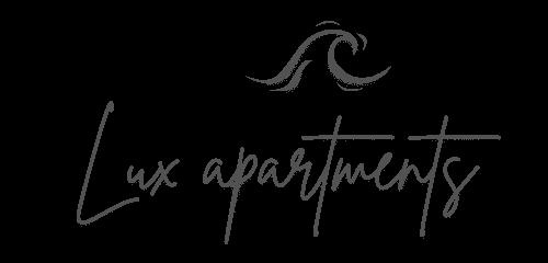 Logo Lux Apartments - Black
