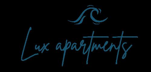 Logo - Lux Apartments - Blue